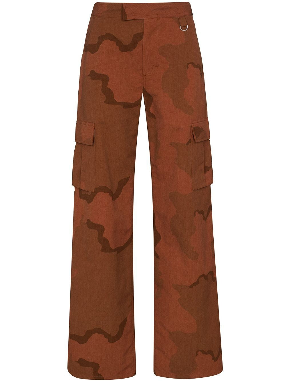 Brown Regenerated Military Pants