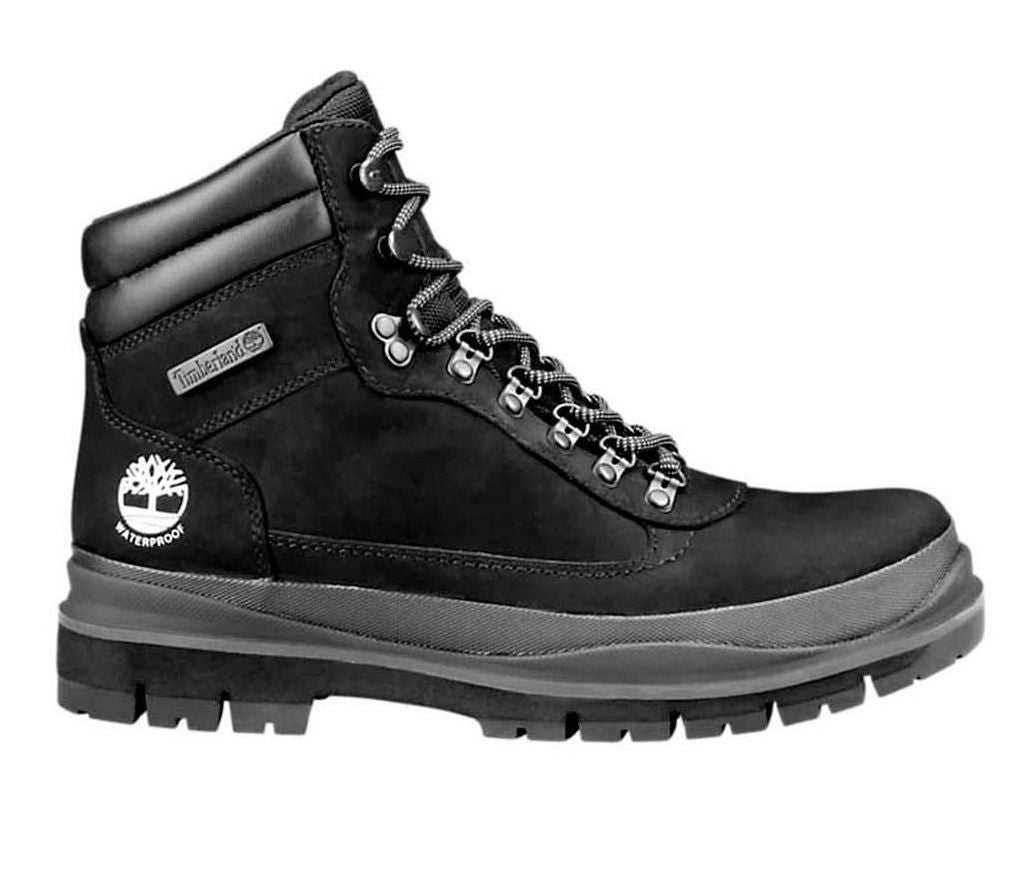 Black Field Trekker Waterproof Boots