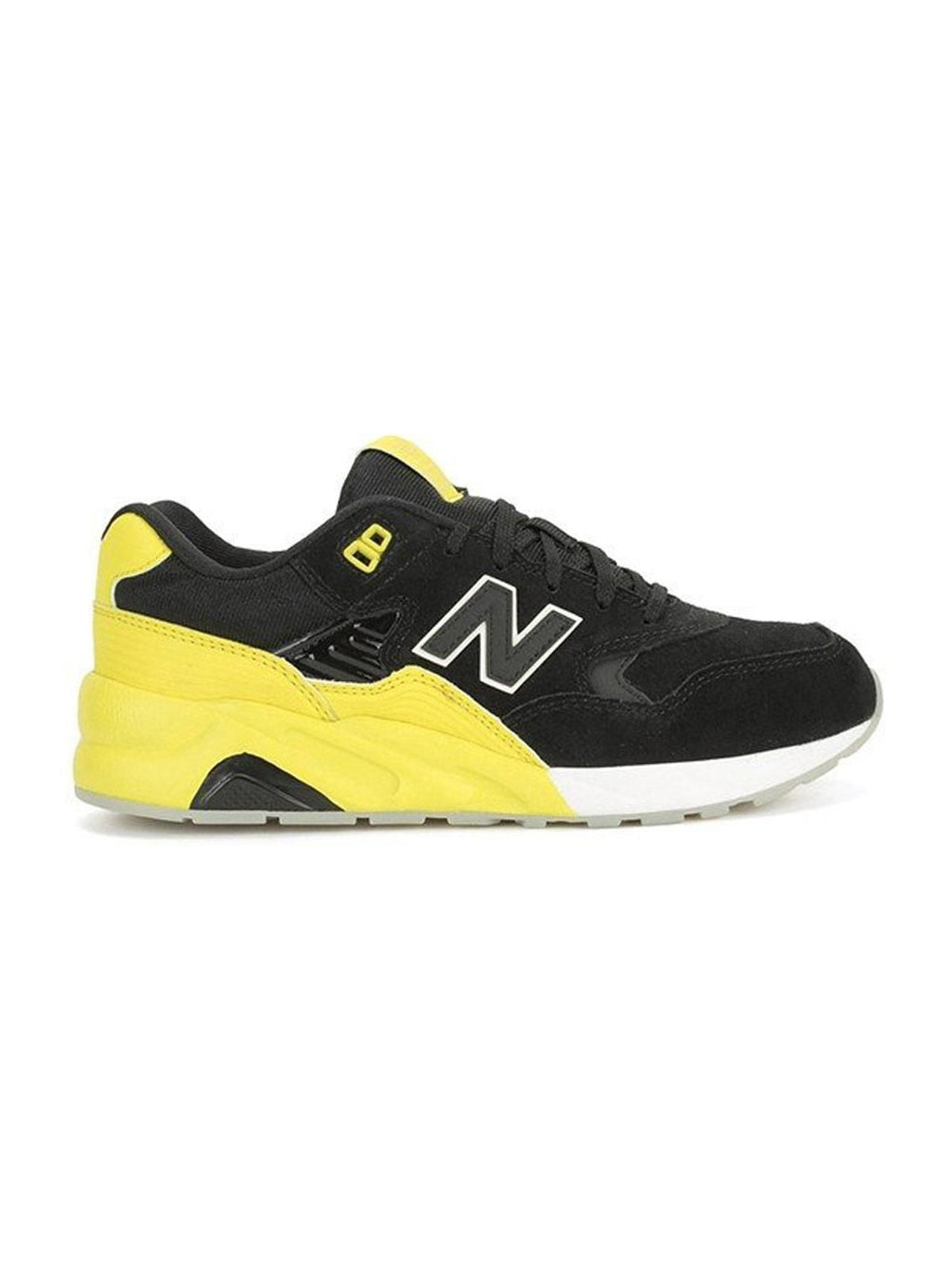 Black & Yellow 580 D Sneakers