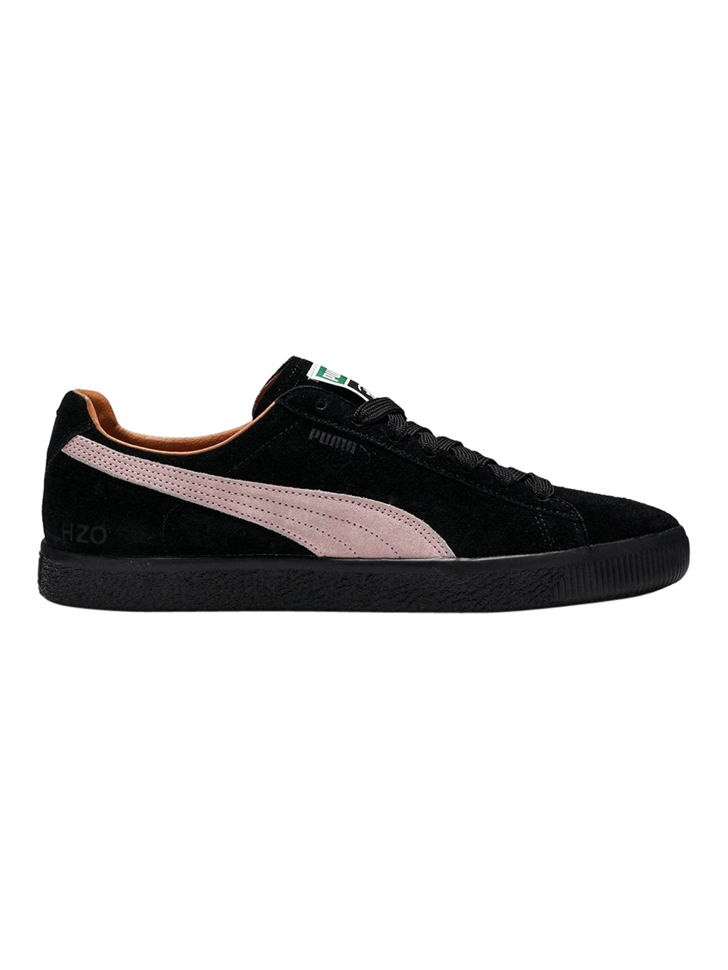 Black x Patta Clyde 'Amsterdam' Sneakers