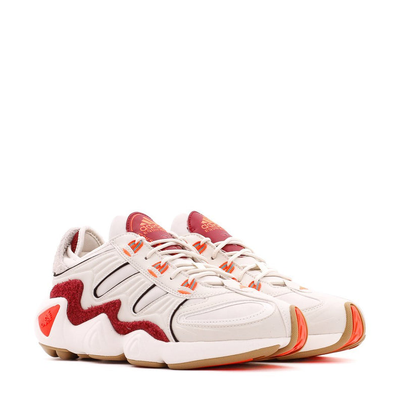 White & Red FYW S-97 Shoes
