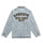 Blue Chain Stitch Embroidery Logo Denim Jacket thumbnail 2