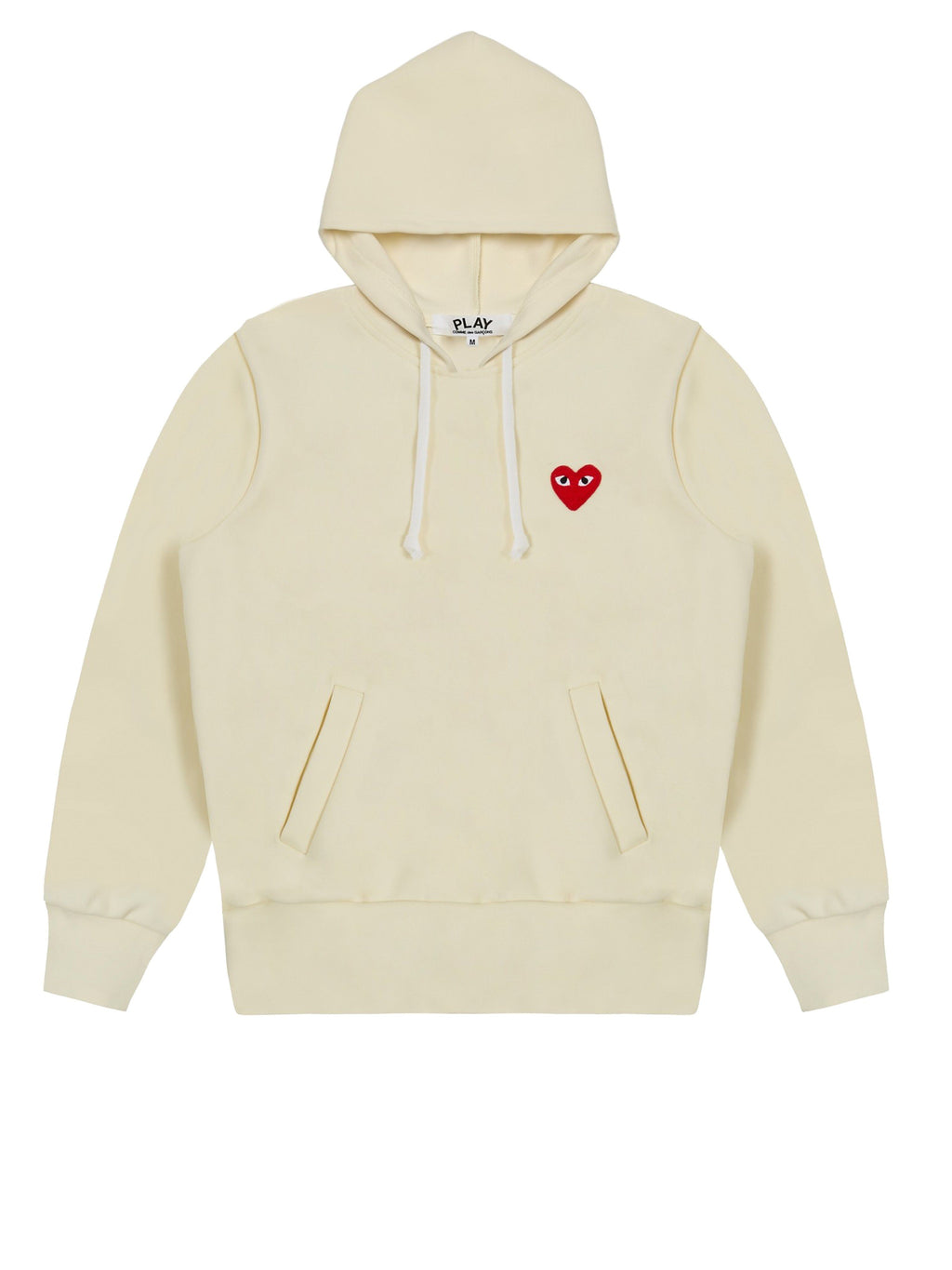 Ivory Play Hooded Sweatshirt