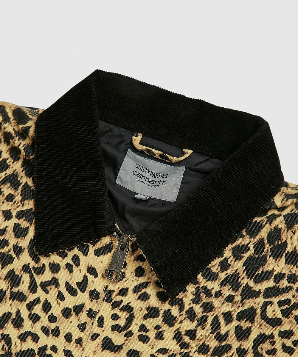 Black or Leopard Beige Detroit Jacket