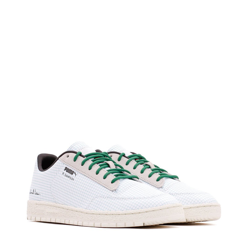 Clean White & Green Puma x Michael Lau Ralph Sampson 70 Sneakers