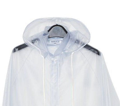 Clear Vinyl Raincoat