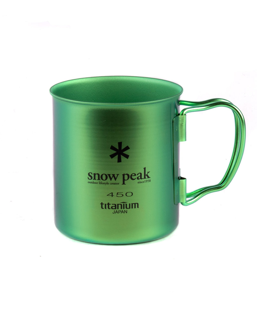 Green and Blue Single-Wall Colored Cup