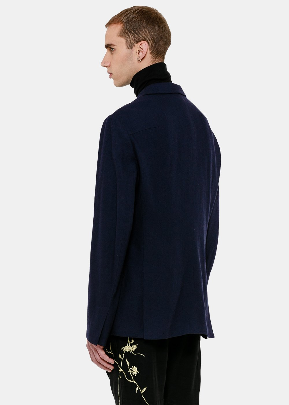 Blue Fitzgerald Tailored Jacket