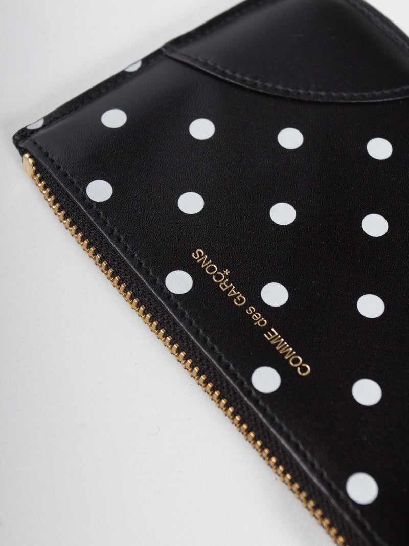 Black Polka Dot Wallet