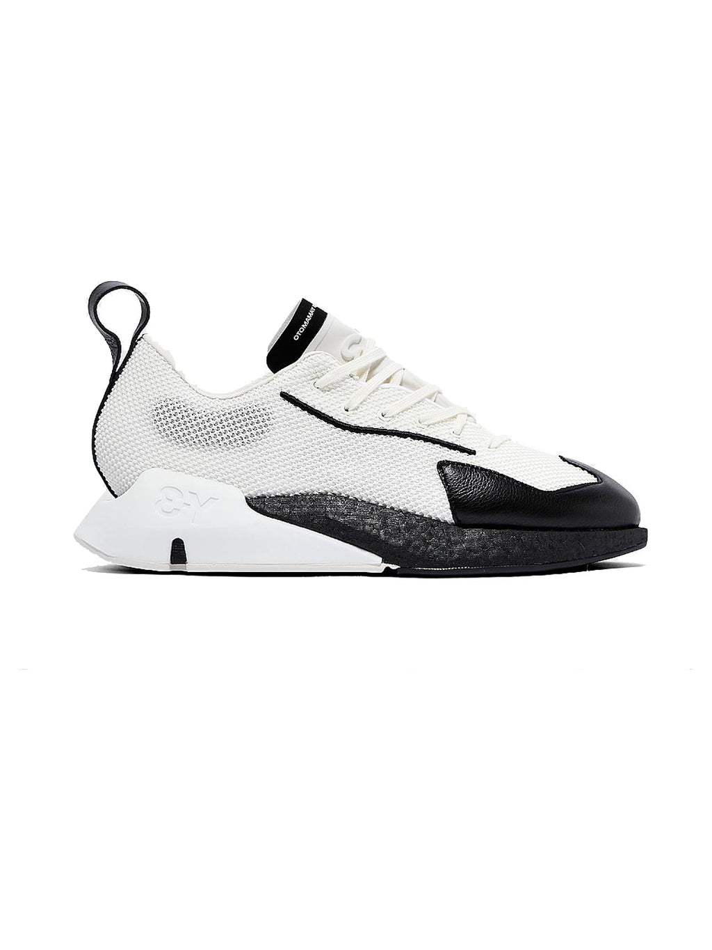 White & Black Y-3 Orisan Sneakers