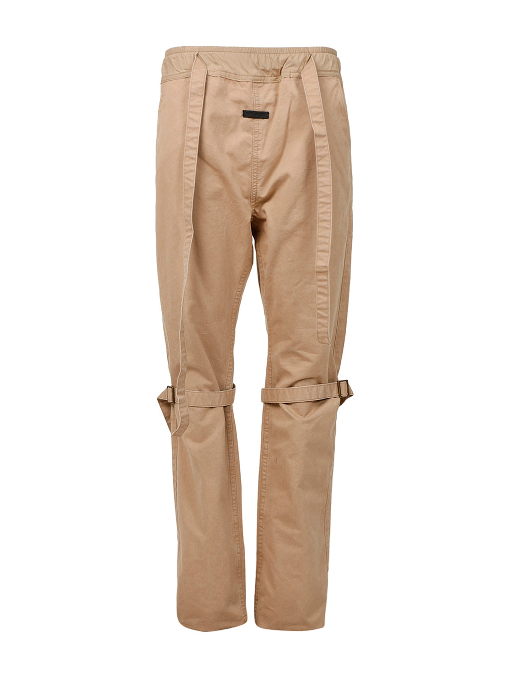 Washed Khaki Bondage Pants