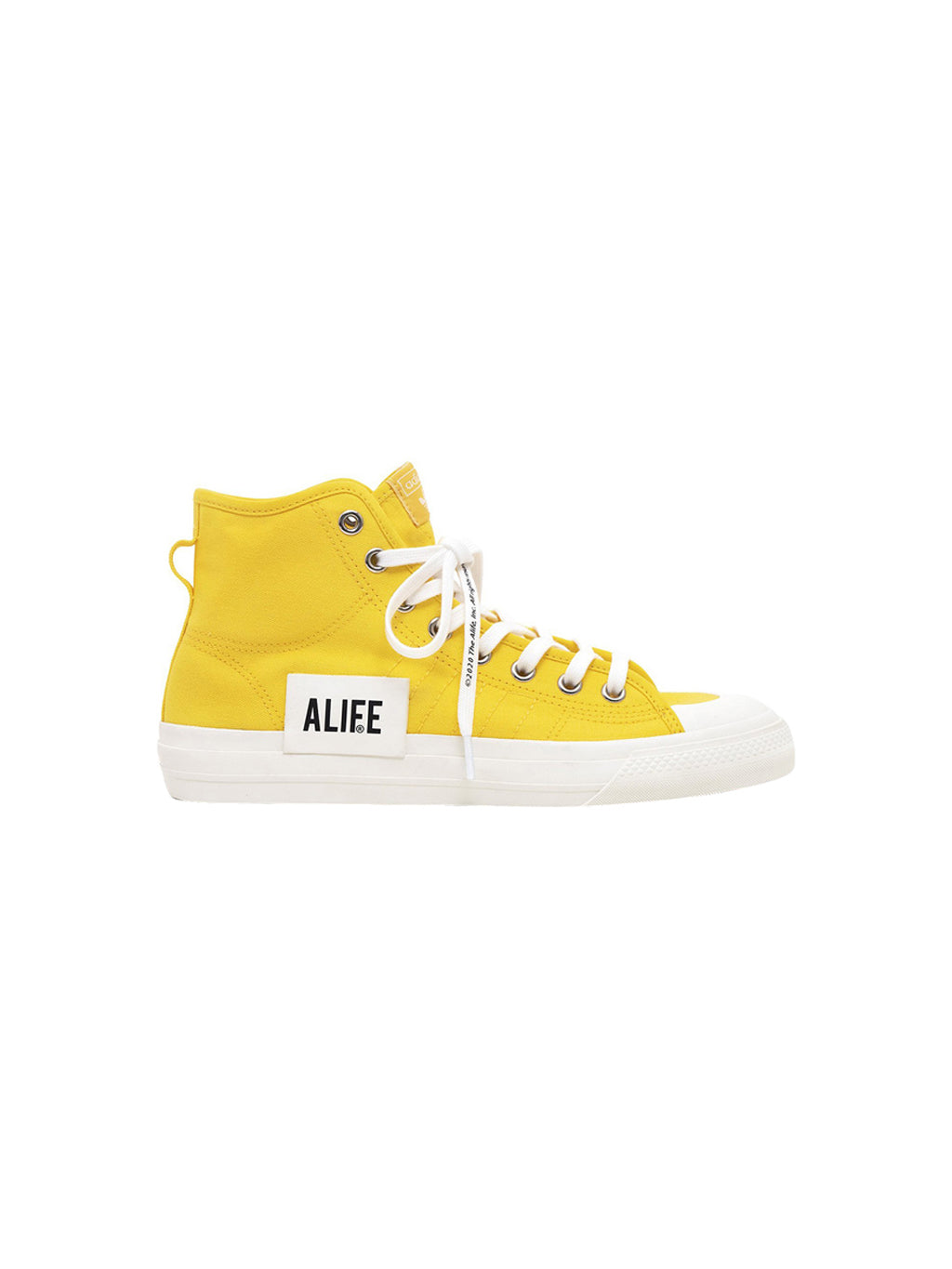 Yellow Alife Nizza Hi Top Sneakers