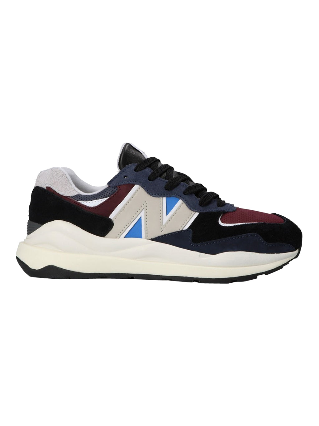 Navy and Burgundy 57/40 Shoes