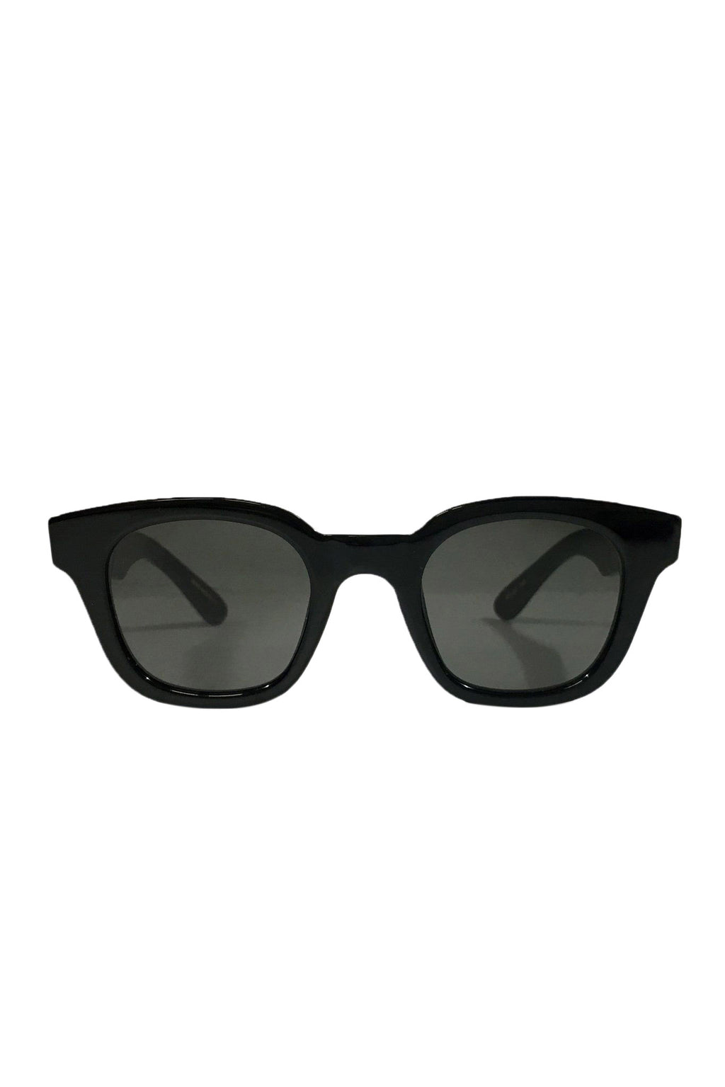 Black Acetate Warsaw Sunglasses