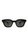 Black Acetate Warsaw Sunglasses thumbnail 1