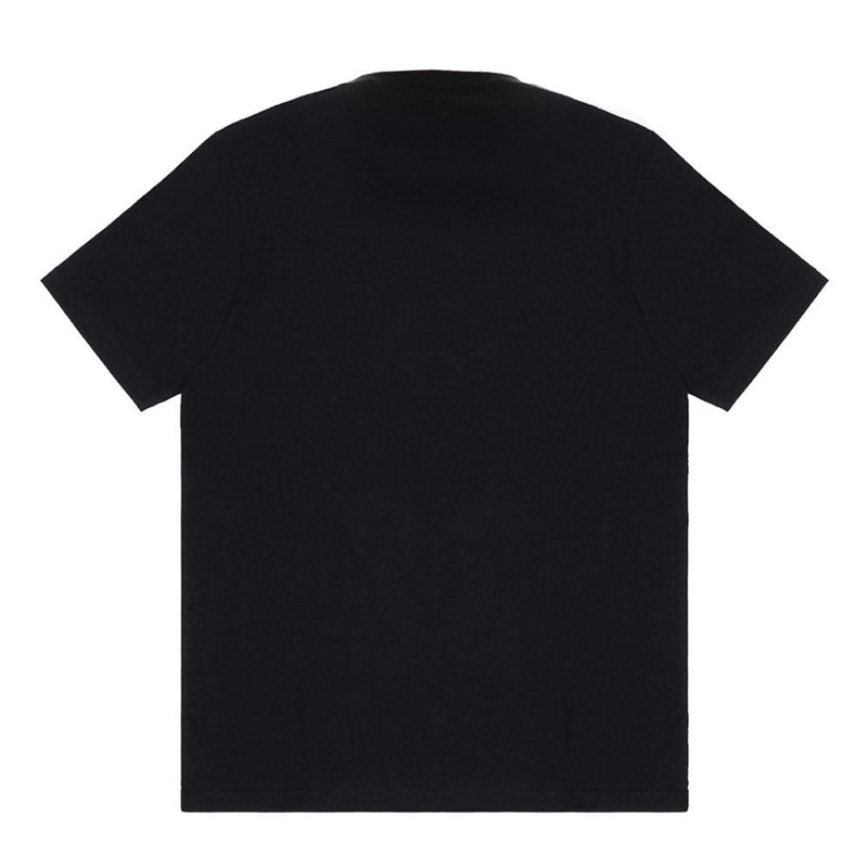 Black Short Sleeve College Script IT T-Shirt