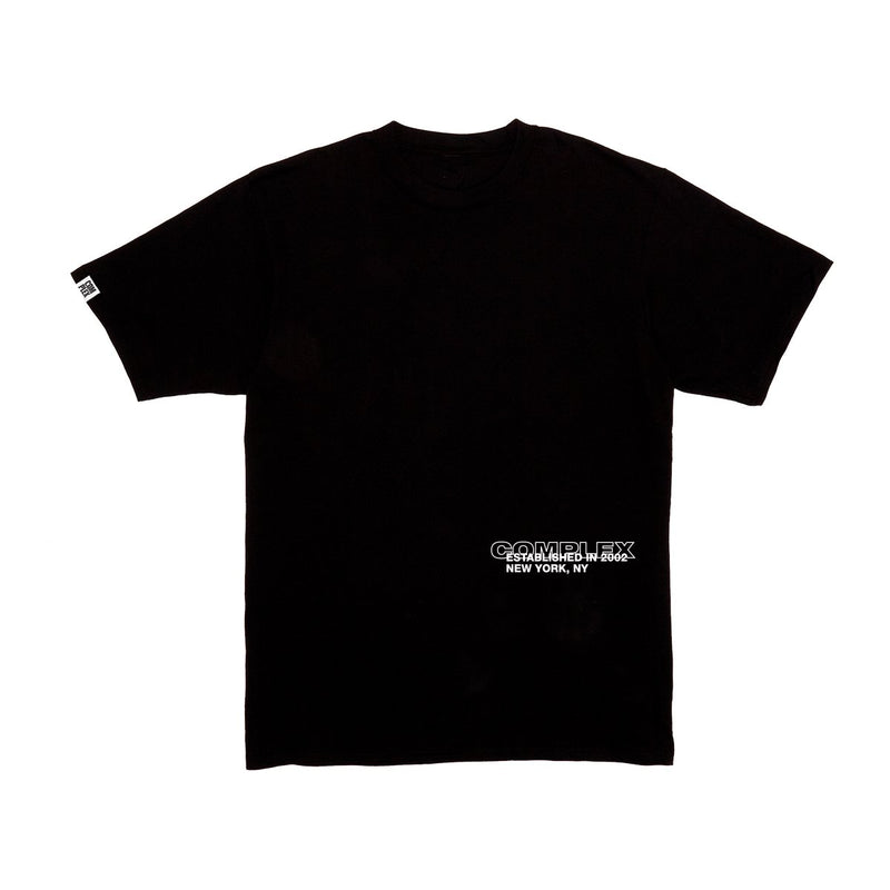 Complex Established Tee - Black