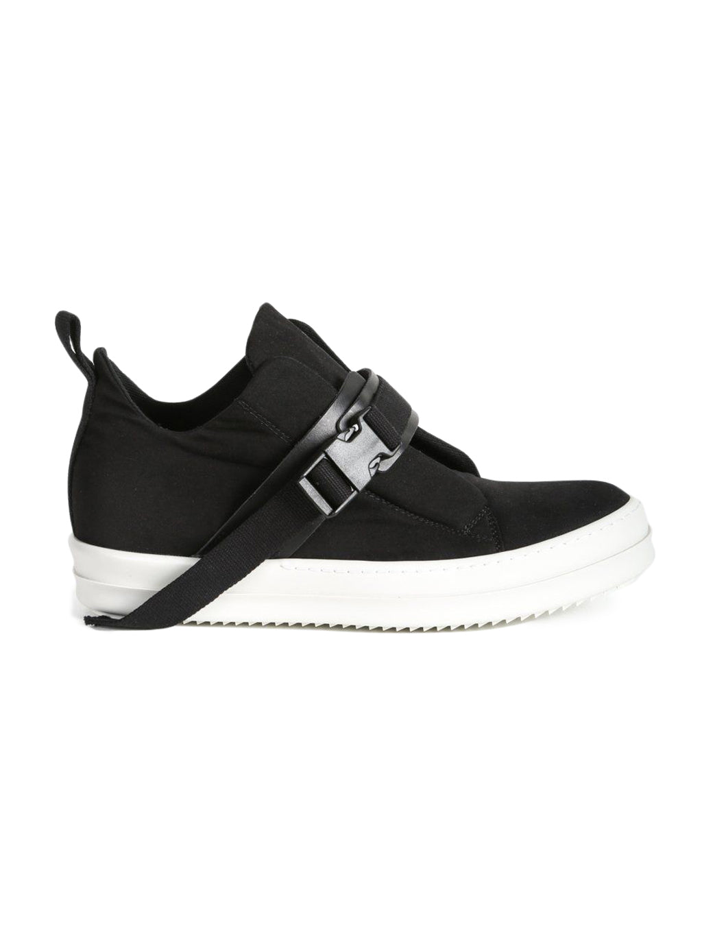Black & White Strap Island Sneakers
