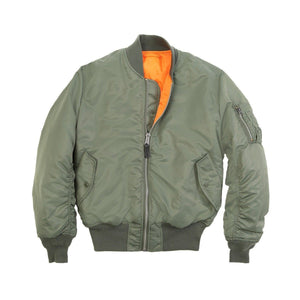 Green MA-1 Flight Jacket