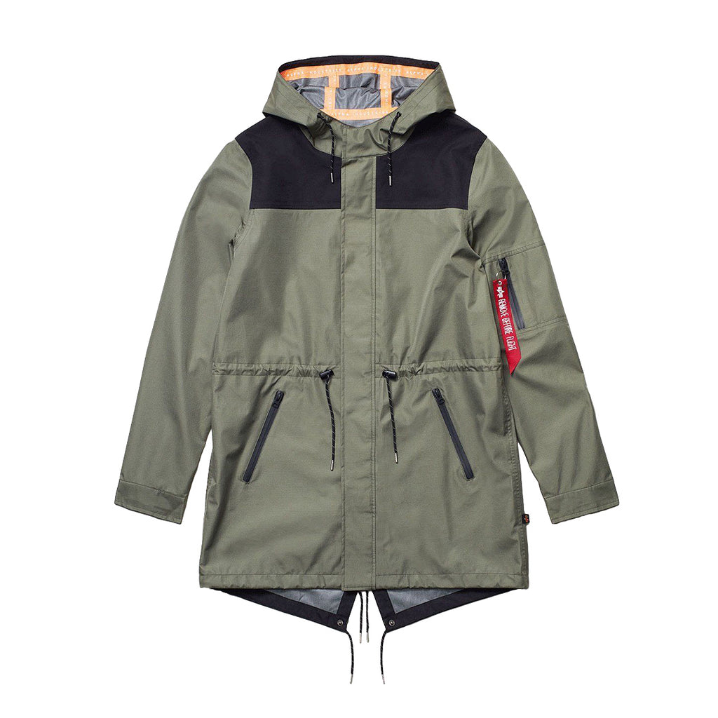 Khaki Deluge Ripstop Fishtail Field Coat