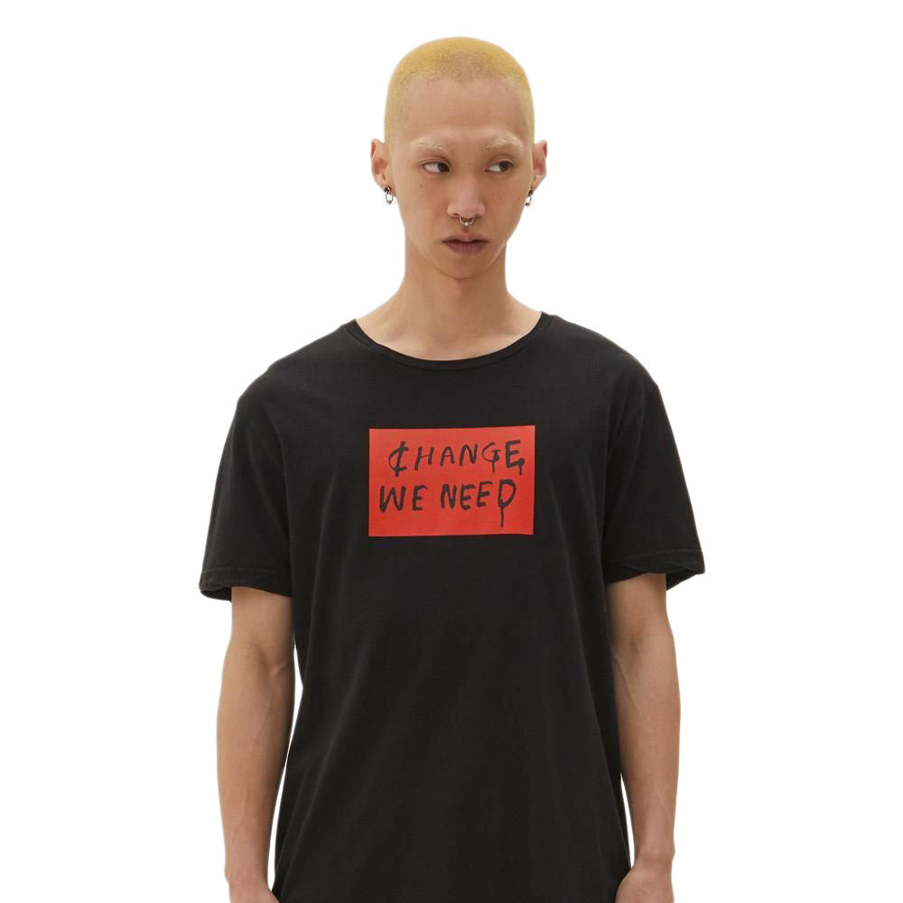 Black Change We Need Short Sleeve T-Shirt