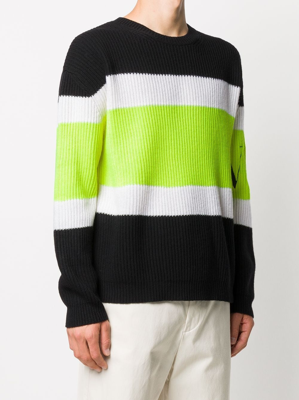 Multi Wool Rib Sweater