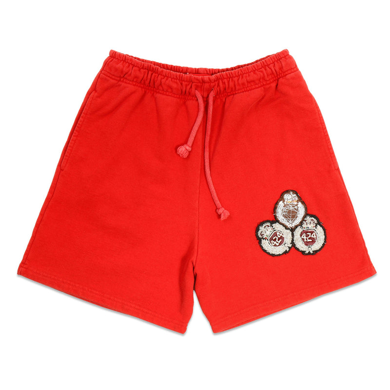 Red Academy Shorts