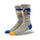 Blue & Yellow NBA Golden State Warriors Melange Socks thumbnail 1