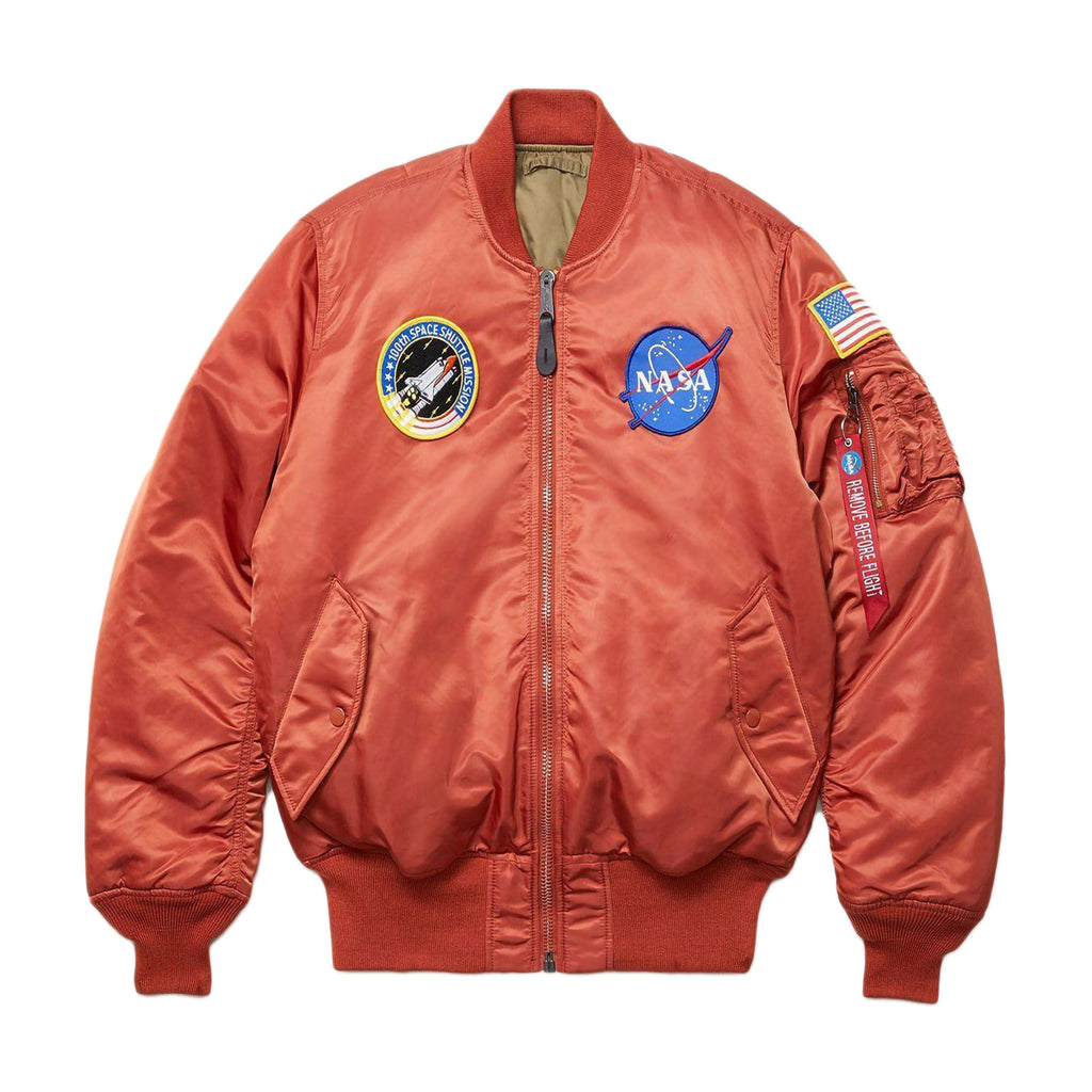 Orange MA-1 NASA Flight Jacket