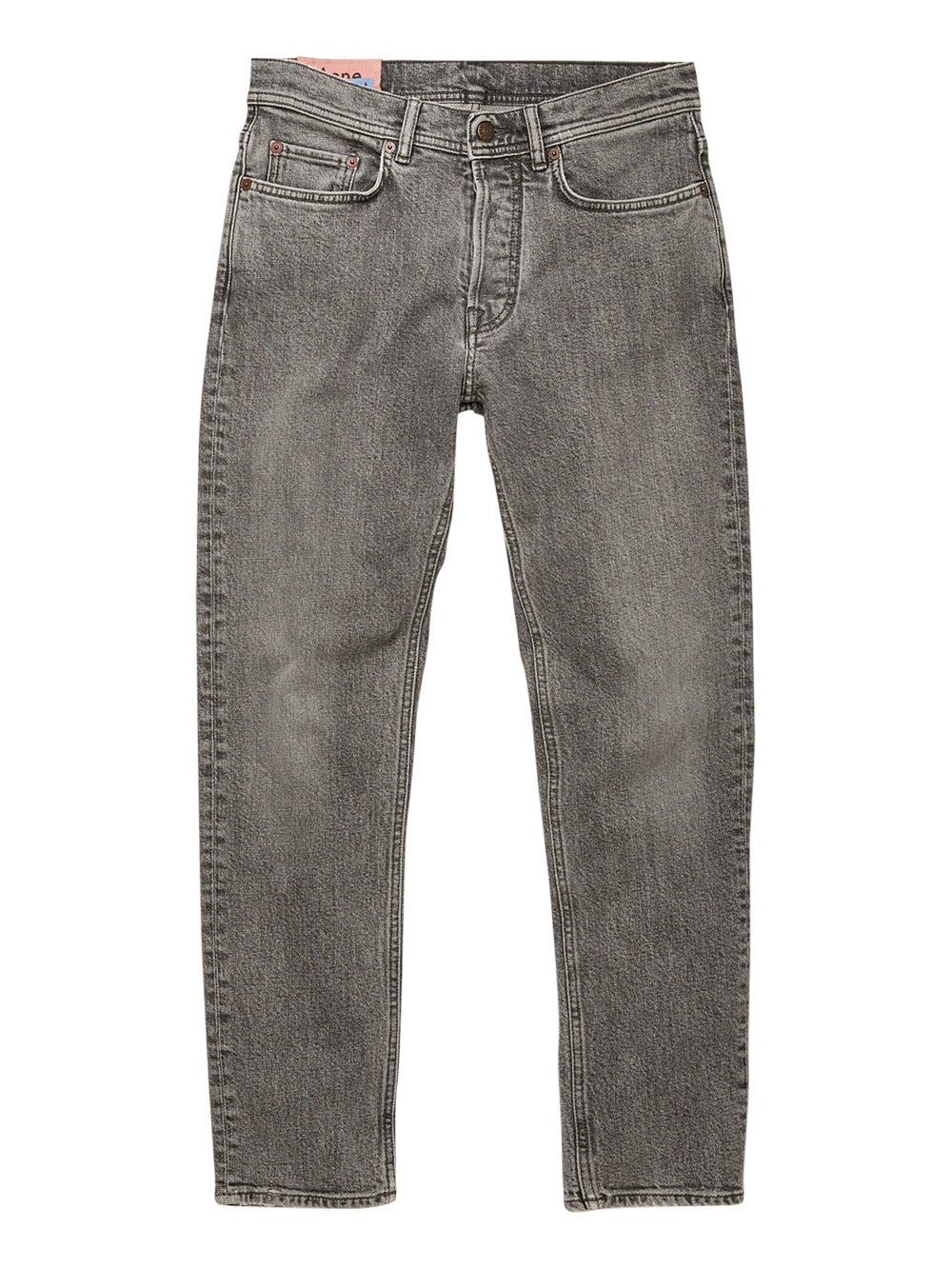 Grey Slim Tapered Fit Jeans
