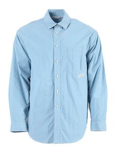 Blue Button-Down Shirt