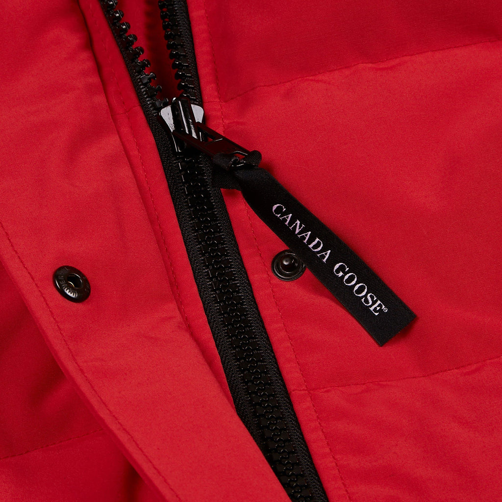 Red Chilliwack Bomber Jacket