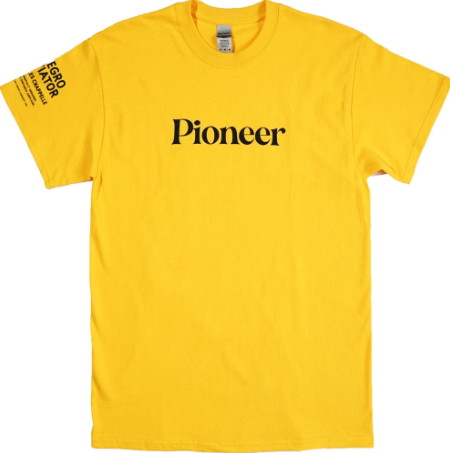 Yellow Bhm Pioneer T-Shirt