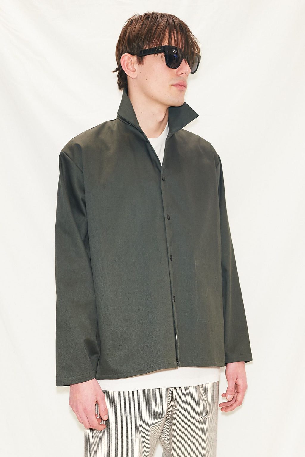 Army Snap Shirtcoat