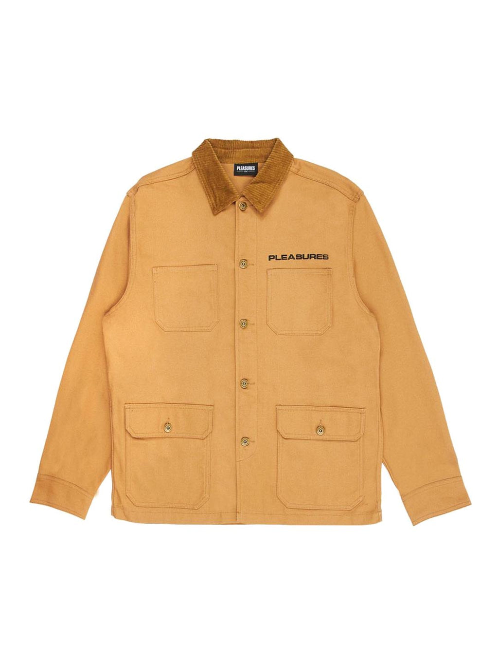 Khaki Spike Chore Jacket