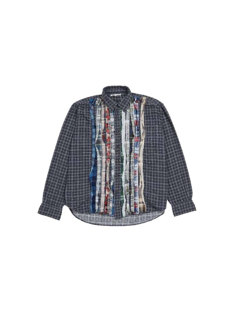 Multi Flannel Ribbon Shirt