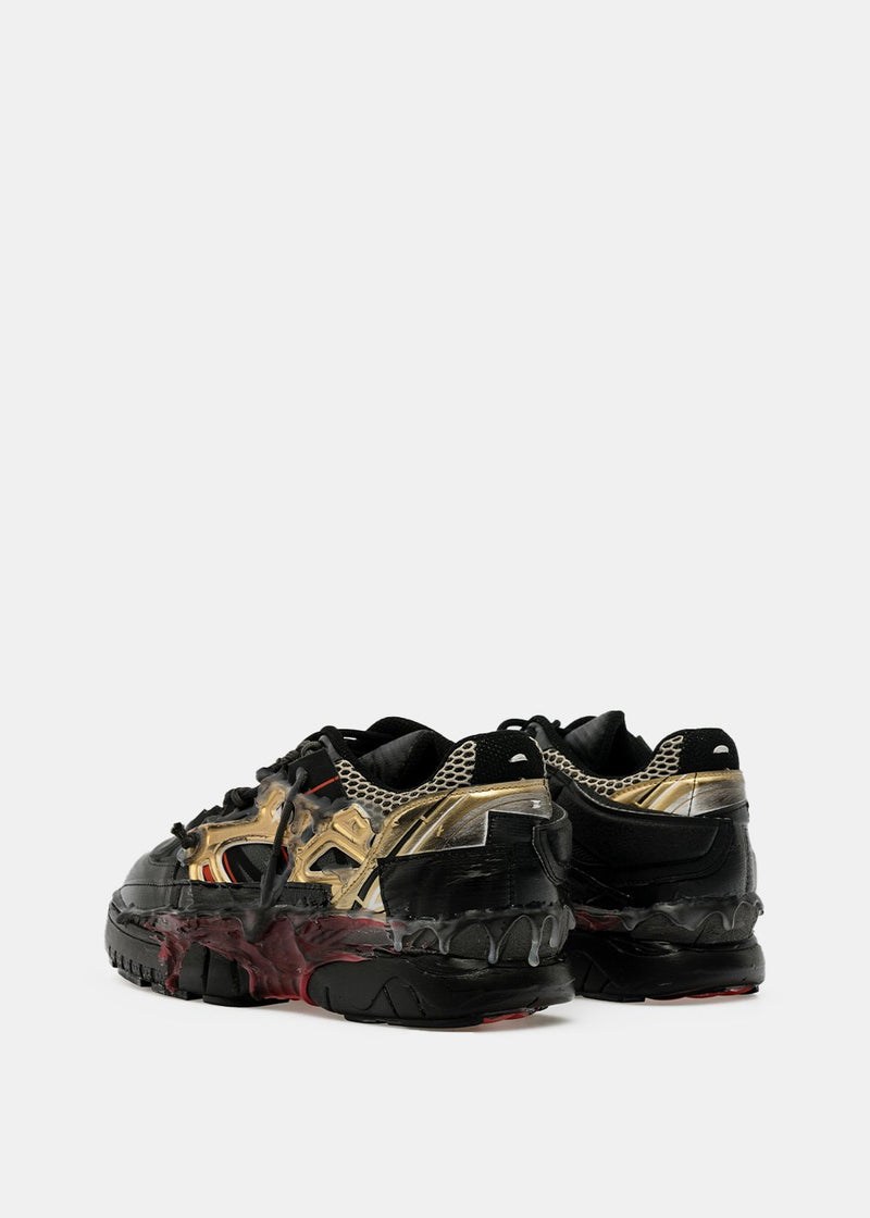 Black Fusion Deconstructed Sneakers