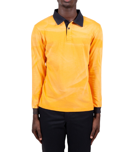 Orange Rugby Shirt