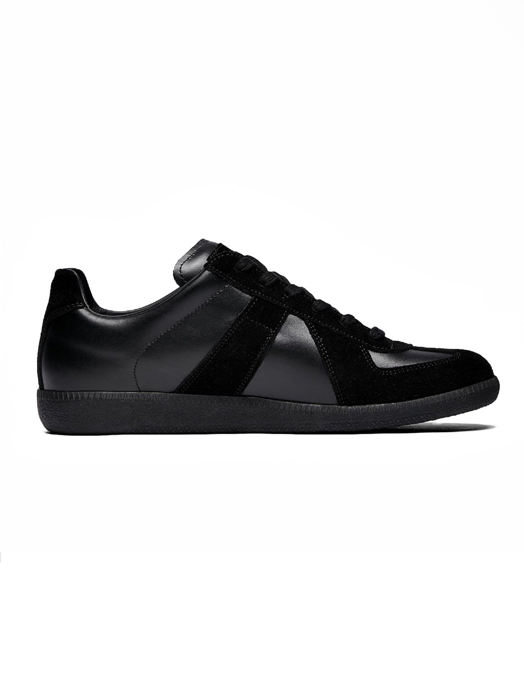 Black Replica Low Top Sneaker