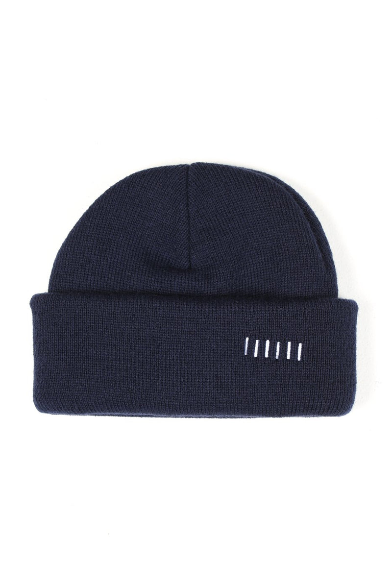 Navy Two-Way Beanie