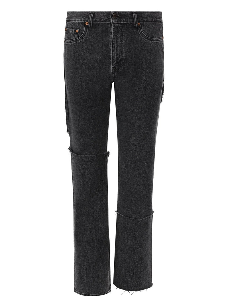 Black 615 Denim Jeans