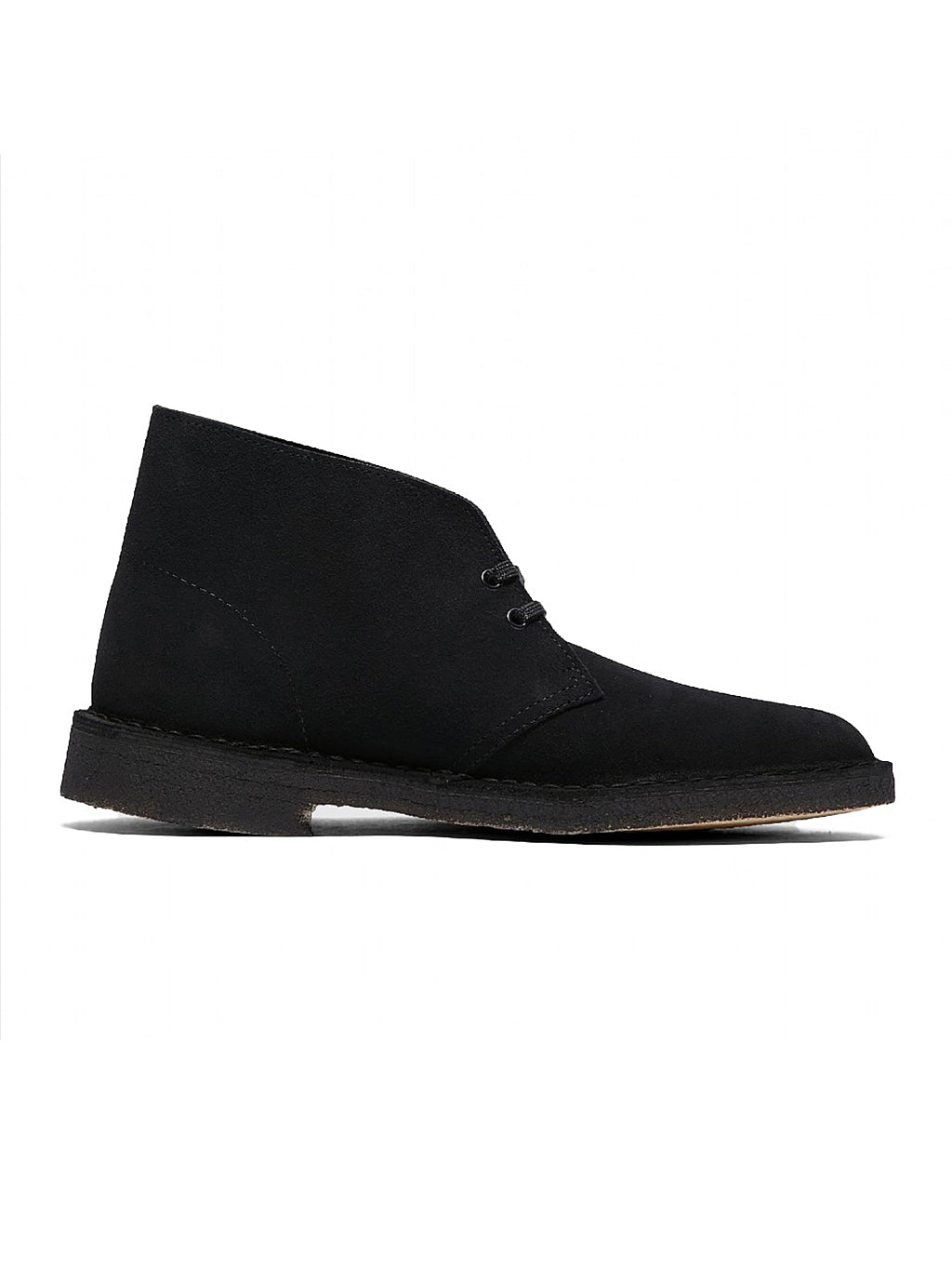 Black & Natural Desert Boot
