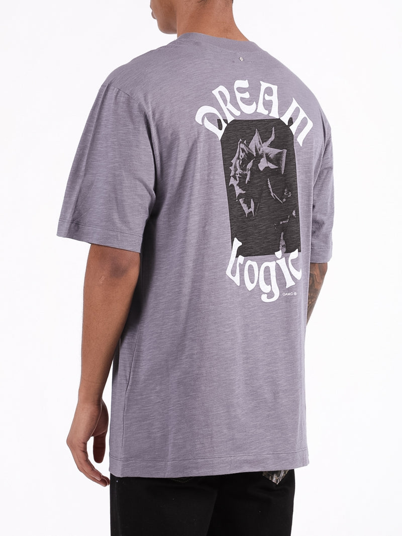 Grey Dream Logic Logo T-Shirt