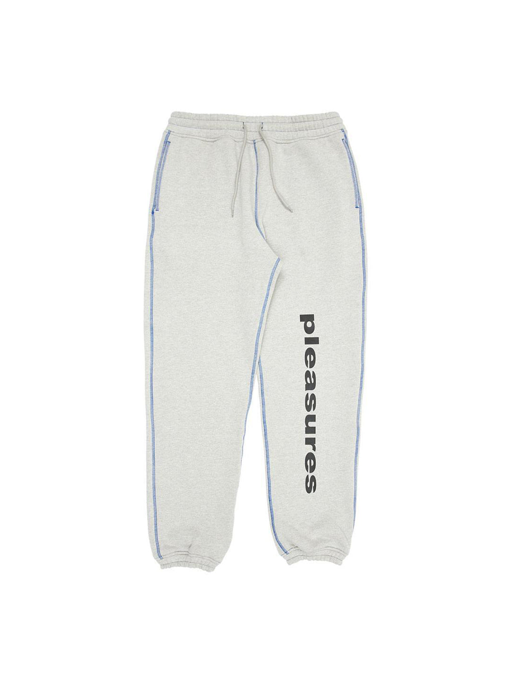 Grey Collapse Sweatpants
