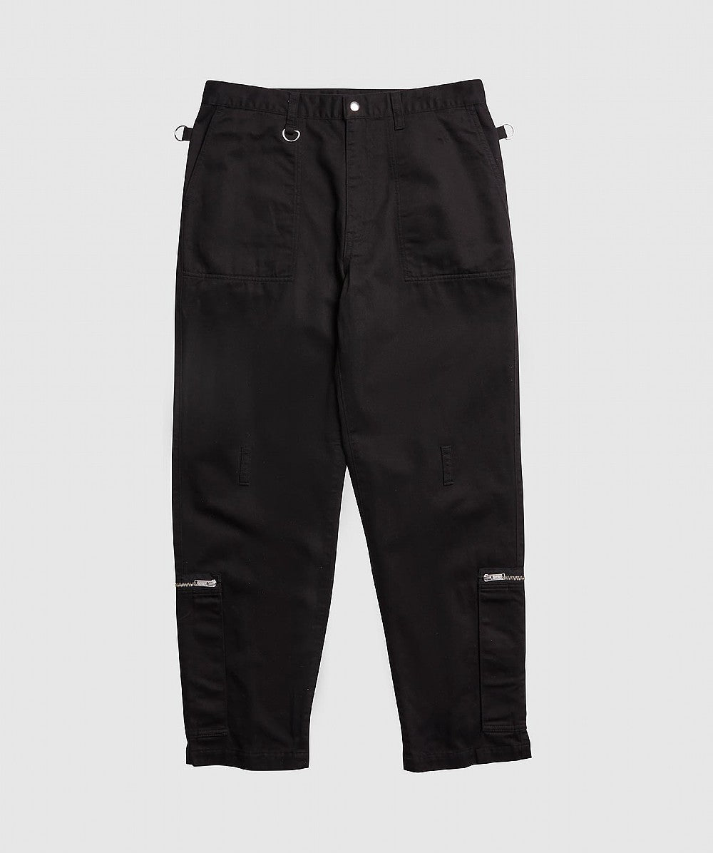 Black Utility Tailored Pant