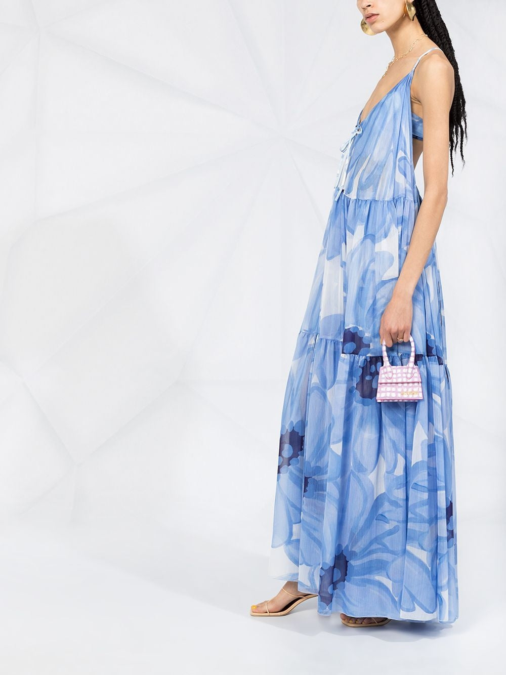 Blue La Robe Mistral Floral Maxi Dress
