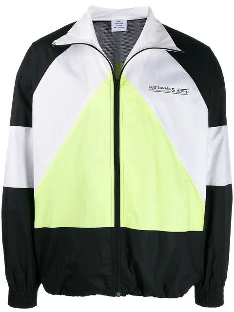 Yellow Musterman Track Jacket