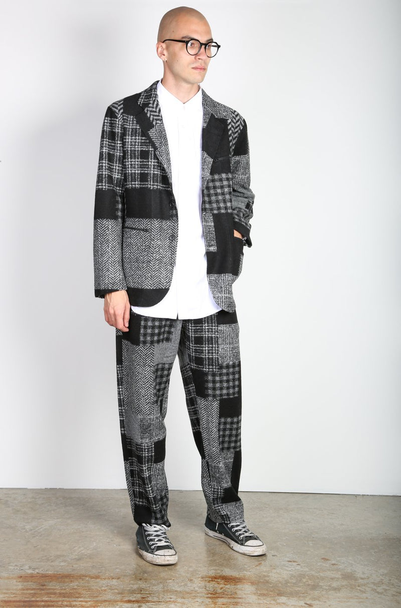 Black & Grey Leisure Jacket