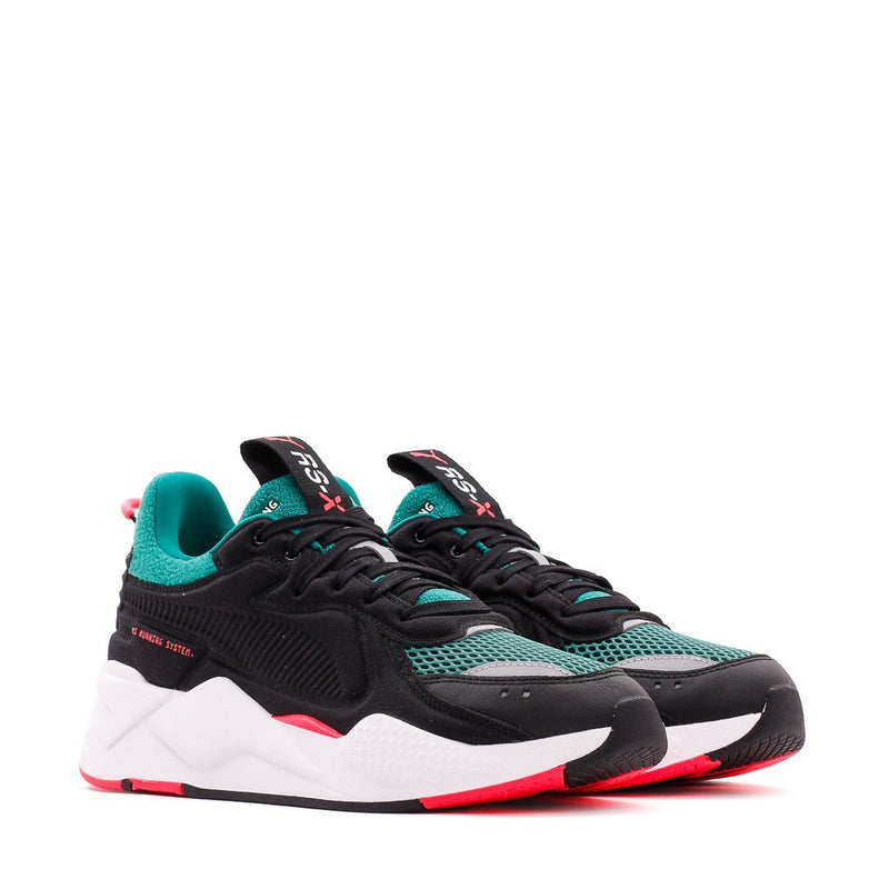Black & Green RS-X Softcase Shoes