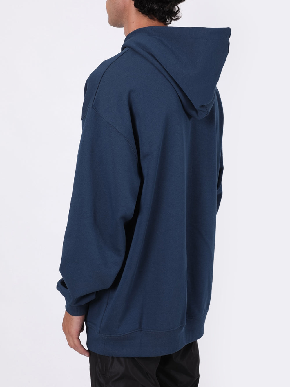 Blue Face Oversized Hoodie